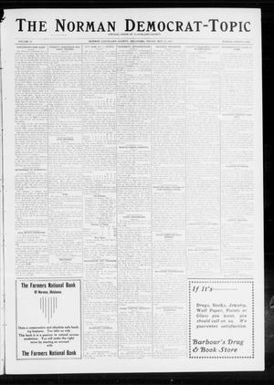 Primary view of object titled 'The Norman Democrat-Topic (Norman, Okla.), Vol. 24, No. 21, Ed. 1 Friday, May 23, 1913'.