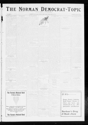 Primary view of object titled 'The Norman Democrat-Topic (Norman, Okla.), Vol. 24, No. 22, Ed. 1 Friday, May 30, 1913'.