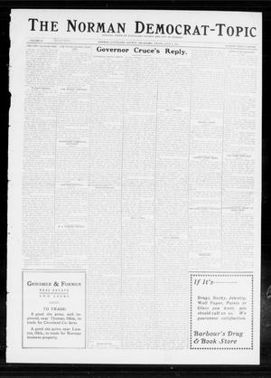 Primary view of object titled 'The Norman Democrat-Topic (Norman, Okla.), Vol. 24, No. 27, Ed. 1 Friday, July 4, 1913'.