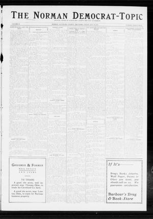 Primary view of object titled 'The Norman Democrat-Topic (Norman, Okla.), Vol. 24, No. 29, Ed. 1 Friday, July 18, 1913'.