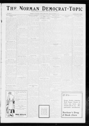 Primary view of object titled 'The Norman Democrat-Topic (Norman, Okla.), Vol. 24, No. 43, Ed. 1 Friday, October 24, 1913'.