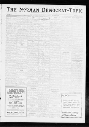 Primary view of object titled 'The Norman Democrat-Topic (Norman, Okla.), Vol. 24, No. 46, Ed. 1 Friday, November 14, 1913'.