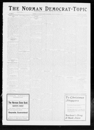 Primary view of object titled 'The Norman Democrat-Topic (Norman, Okla.), Vol. 24, No. 49, Ed. 1 Friday, December 5, 1913'.
