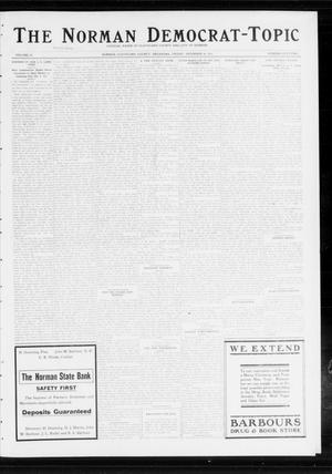 Primary view of object titled 'The Norman Democrat-Topic (Norman, Okla.), Vol. 24, No. 52, Ed. 1 Friday, December 26, 1913'.