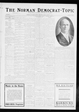 Primary view of object titled 'The Norman Democrat-Topic (Norman, Okla.), Vol. 25, No. 3, Ed. 1 Friday, January 16, 1914'.