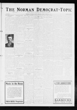 Primary view of object titled 'The Norman Democrat-Topic (Norman, Okla.), Vol. 25, No. 7, Ed. 1 Friday, February 13, 1914'.