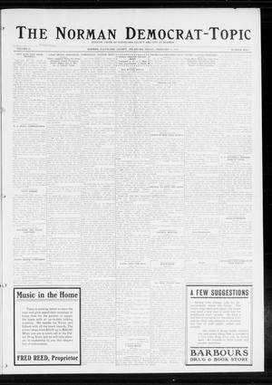 Primary view of object titled 'The Norman Democrat-Topic (Norman, Okla.), Vol. 25, No. 9, Ed. 1 Friday, February 27, 1914'.
