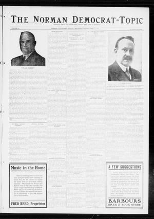 Primary view of object titled 'The Norman Democrat-Topic (Norman, Okla.), Vol. 25, No. 16, Ed. 1 Friday, April 17, 1914'.