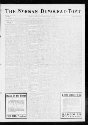 Primary view of object titled 'The Norman Democrat-Topic (Norman, Okla.), Vol. 25, No. 21, Ed. 1 Friday, May 22, 1914'.