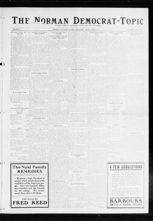 Primary view of object titled 'The Norman Democrat-Topic (Norman, Okla.), Vol. 25, No. 26, Ed. 1 Friday, June 26, 1914'.