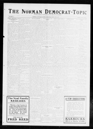 Primary view of object titled 'The Norman Democrat-Topic (Norman, Okla.), Vol. 25, No. 27, Ed. 1 Friday, July 3, 1914'.