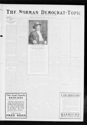 Primary view of object titled 'The Norman Democrat-Topic (Norman, Okla.), Vol. 25, No. 28, Ed. 1 Friday, July 10, 1914'.