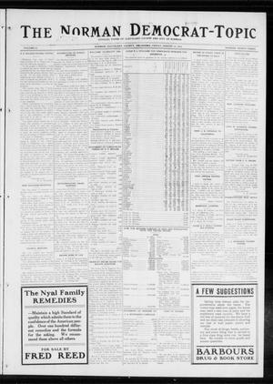 Primary view of object titled 'The Norman Democrat-Topic (Norman, Okla.), Vol. 25, No. 33, Ed. 1 Friday, August 14, 1914'.