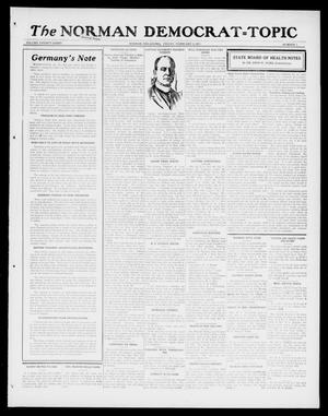 Primary view of object titled 'The Norman Democrat--Topic (Norman, Okla.), Vol. 28, No. 7, Ed. 1 Friday, February 2, 1917'.