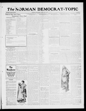 Primary view of object titled 'The Norman Democrat--Topic (Norman, Okla.), Vol. 28, No. 22, Ed. 1 Friday, May 18, 1917'.