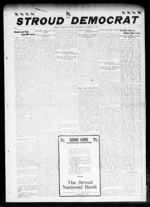 Primary view of object titled 'The Stroud Democrat (Stroud, Okla.), Vol. 8, No. 11, Ed. 1 Friday, December 7, 1917'.