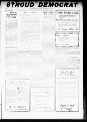 Primary view of object titled 'The Stroud Democrat (Stroud, Okla.), Vol. 8, No. 40, Ed. 1 Friday, June 28, 1918'.