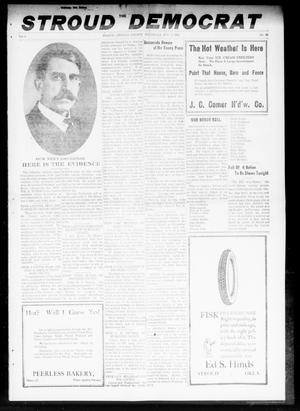 Primary view of object titled 'The Stroud Democrat (Stroud, Okla.), Vol. 8, No. 45, Ed. 1 Friday, August 2, 1918'.