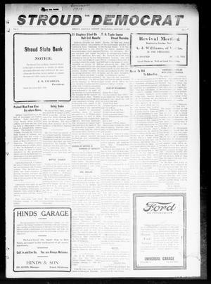 Primary view of The Stroud Democrat (Stroud, Okla.), Vol. 9, No. 14, Ed. 1 Friday, January 3, 1919