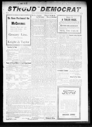 Primary view of object titled 'The Stroud Democrat (Stroud, Okla.), Vol. 9, No. 21, Ed. 1 Friday, March 7, 1919'.