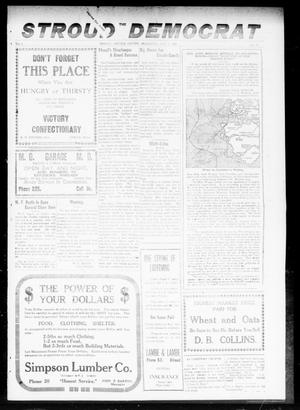 Primary view of object titled 'The Stroud Democrat (Stroud, Okla.), Vol. 9, No. 39, Ed. 1 Friday, July 4, 1919'.