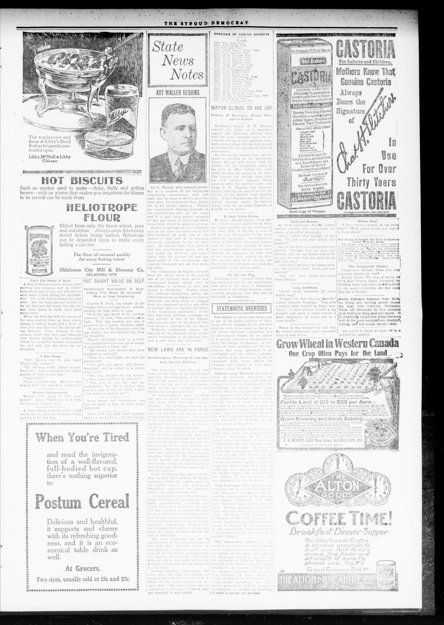 The Stroud Democrat (Stroud, Okla.), Vol. 9, No. 39, Ed. 1 Friday, July 4, 1919                                                                                                      [Sequence #]: 3 of 8