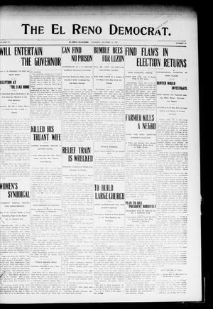 Primary view of The El Reno Democrat. (El Reno, Okla.), Vol. 18, No. 33, Ed. 1 Thursday, October 10, 1907