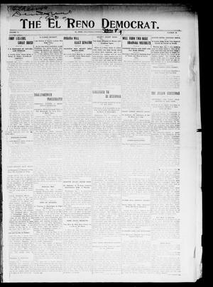 Primary view of object titled 'The El Reno Democrat. (El Reno, Okla.), Vol. 19, No. 44, Ed. 1 Thursday, January 7, 1909'.