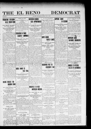 Primary view of object titled 'The El Reno Democrat (El Reno, Okla.), Vol. 20, No. 10, Ed. 1 Thursday, May 13, 1909'.