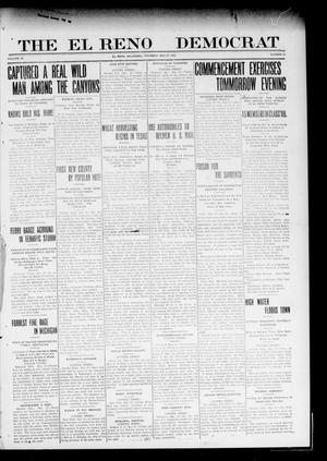 Primary view of object titled 'The El Reno Democrat (El Reno, Okla.), Vol. 20, No. 12, Ed. 1 Thursday, May 27, 1909'.