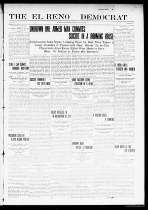 Primary view of object titled 'The El Reno Democrat (El Reno, Okla.), Vol. 21, No. 21, Ed. 1 Thursday, July 29, 1909'.