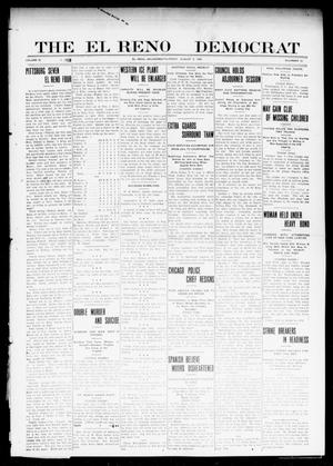 Primary view of object titled 'The El Reno Democrat (El Reno, Okla.), Vol. 21, No. 22, Ed. 1 Thursday, August 5, 1909'.