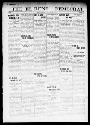 Primary view of object titled 'The El Reno Democrat (El Reno, Okla.), Vol. 21, No. 33, Ed. 1 Thursday, October 21, 1909'.