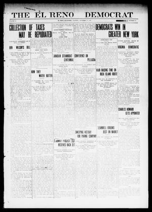 Primary view of object titled 'The El Reno Democrat (El Reno, Okla.), Vol. 21, No. 35, Ed. 1 Thursday, November 4, 1909'.