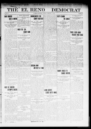 Primary view of object titled 'The El Reno Democrat (El Reno, Okla.), Vol. 21, No. 50, Ed. 1 Thursday, February 17, 1910'.