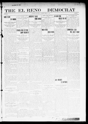 Primary view of object titled 'The El Reno Democrat (El Reno, Okla.), Vol. 22, No. 4, Ed. 1 Thursday, March 31, 1910'.