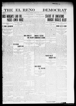 Primary view of object titled 'The El Reno Democrat (El Reno, Okla.), Vol. 22, No. 5, Ed. 1 Thursday, April 7, 1910'.