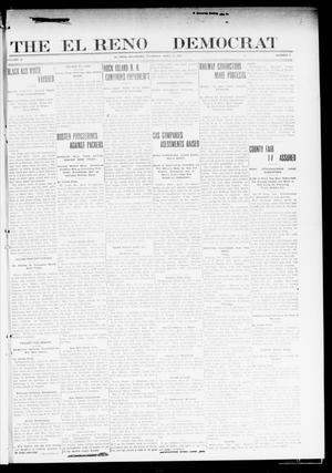Primary view of object titled 'The El Reno Democrat (El Reno, Okla.), Vol. 22, No. 7, Ed. 1 Thursday, April 21, 1910'.