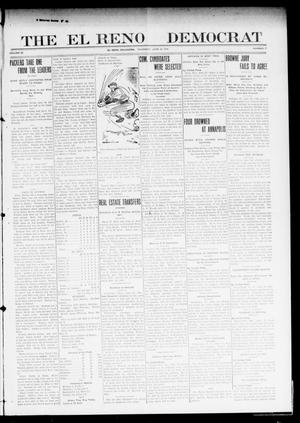 Primary view of object titled 'The El Reno Democrat (El Reno, Okla.), Vol. 22, No. 17, Ed. 1 Thursday, June 30, 1910'.