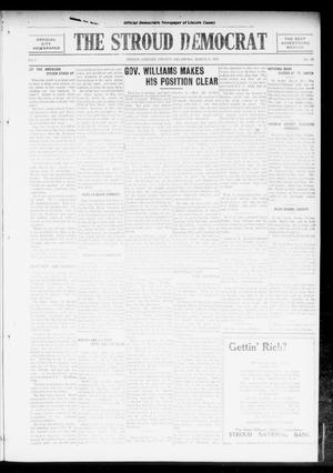 Primary view of object titled 'The Stroud Democrat (Stroud, Okla.), Vol. 6, No. 28, Ed. 1 Friday, March 31, 1916'.
