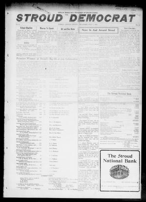 Primary view of object titled 'The Stroud Democrat (Stroud, Okla.), Vol. 6, No. 42, Ed. 1 Friday, July 7, 1916'.