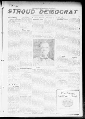 Primary view of object titled 'The Stroud Democrat (Stroud, Okla.), Vol. 6, No. 45, Ed. 1 Friday, July 28, 1916'.