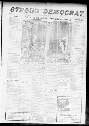 Primary view of object titled 'The Stroud Democrat (Stroud, Okla.), Vol. 7, No. 13, Ed. 1 Friday, December 15, 1916'.