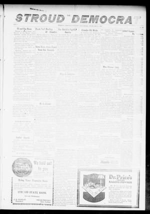 Primary view of object titled 'The Stroud Democrat (Stroud, Okla.), Vol. 7, No. 21, Ed. 1 Friday, February 9, 1917'.