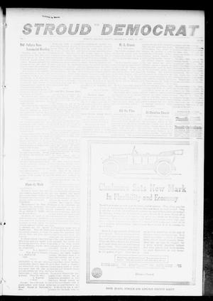 Primary view of object titled 'The Stroud Democrat (Stroud, Okla.), Vol. 7, No. 32, Ed. 1 Friday, April 27, 1917'.