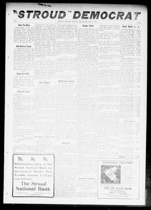Primary view of object titled 'The Stroud Democrat (Stroud, Okla.), Vol. 7, No. 33, Ed. 1 Friday, May 4, 1917'.