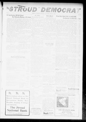 Primary view of object titled 'The Stroud Democrat (Stroud, Okla.), Vol. 7, No. 34, Ed. 1 Friday, May 11, 1917'.