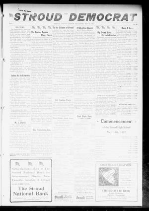 Primary view of object titled 'The Stroud Democrat (Stroud, Okla.), Vol. 7, No. 35, Ed. 1 Friday, May 18, 1917'.