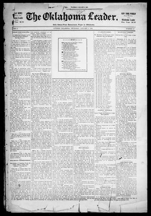 Primary view of object titled 'The Oklahoma Leader. (Guthrie, Okla.), Vol. 11, No. 49, Ed. 1 Thursday, January 5, 1905'.