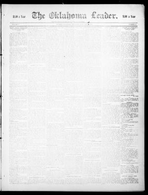 Primary view of object titled 'The Oklahoma Leader. (Guthrie, Okla.), Vol. 17, No. 19, Ed. 1 Thursday, February 11, 1909'.